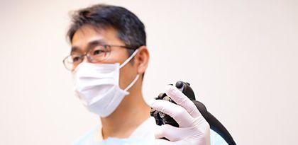 苦痛を抑えて楽に受けられる内視鏡検査