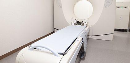 CTによる精密検査が可能