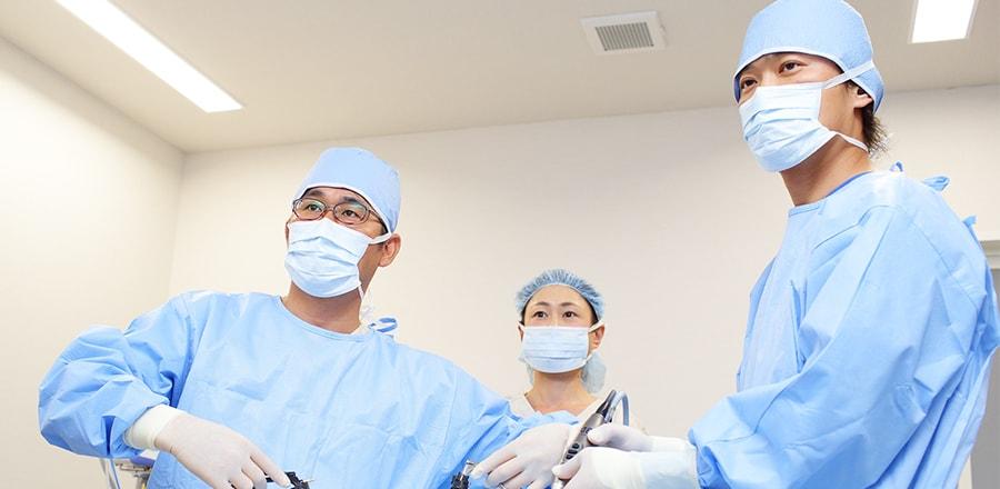 傷跡が小さく目立たない3D腹腔鏡による日帰り手術